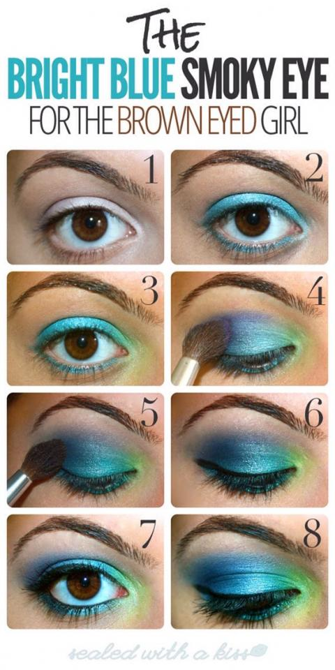 I have brown eyes and trying this!  Thanks for liking and sharing!  xoxoxo