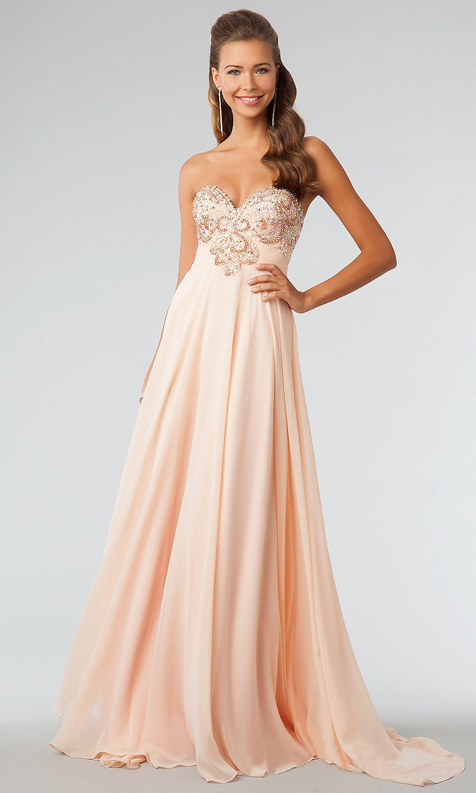 Another favorite it a peach and I love the peach,pinks I like light colors