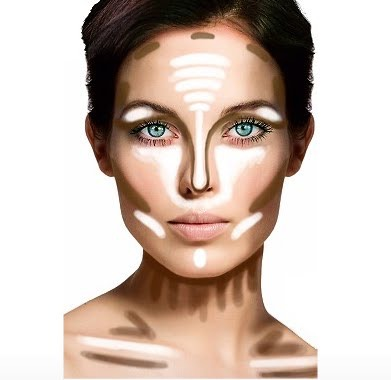 Use this to see where to contour and highlight!