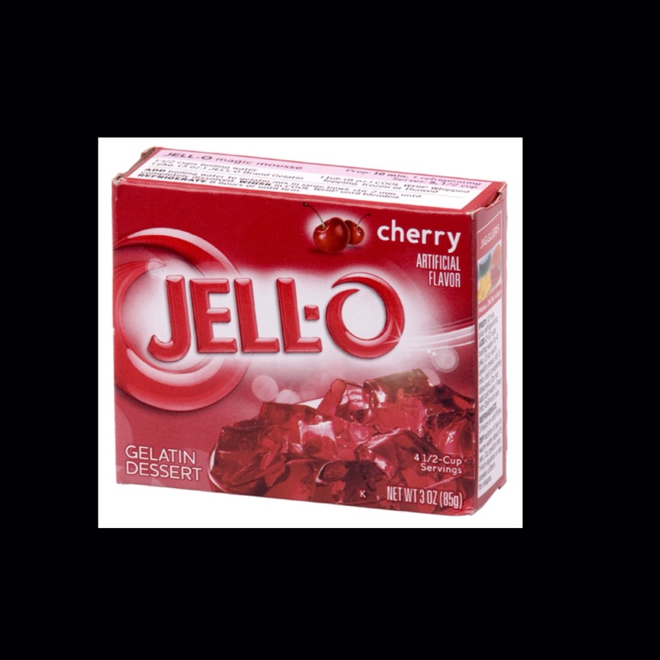 First you'll want to make the Jello of your choice , directions should be on the box.