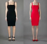 """what could be better than a no-frills, and hence perfect-for-ever-and-ever, dress? Good advice """"Keep it basic let your curves do the talking """""""