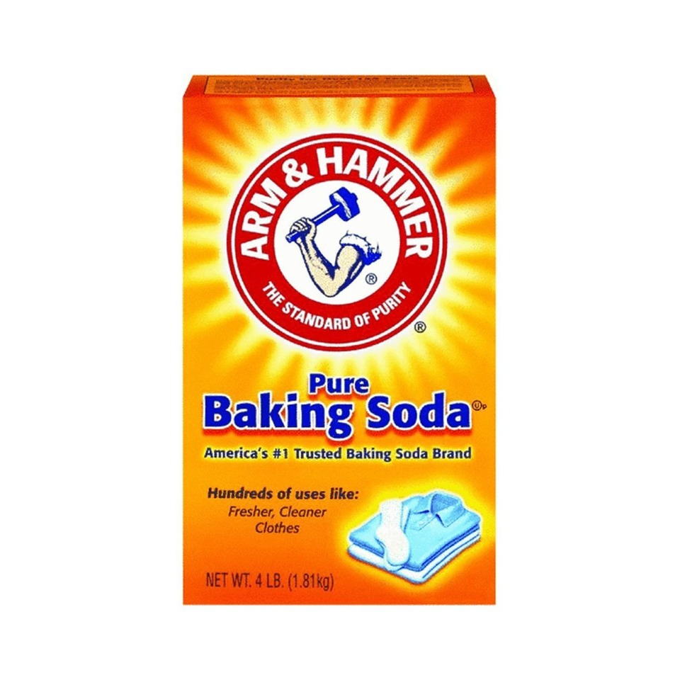 Take out your baking soda.