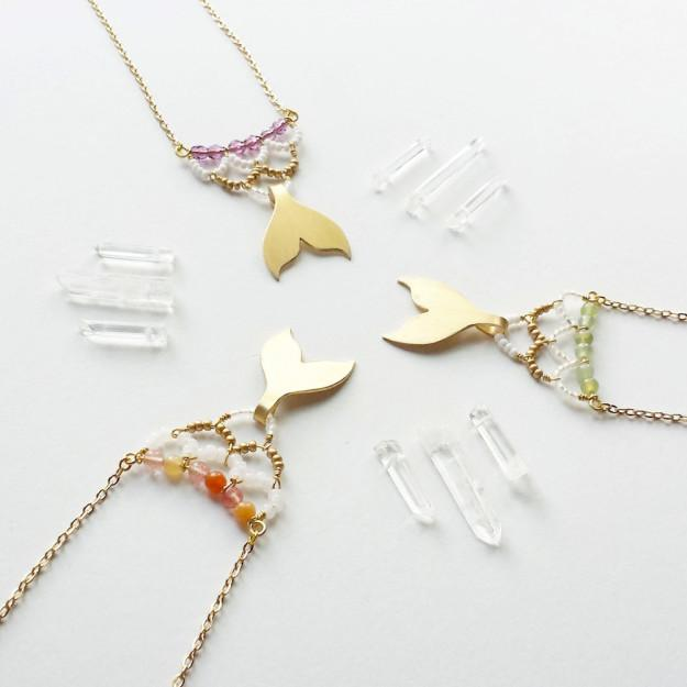 10. A necklace you'll flip your fin over.