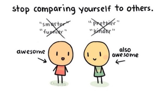 10. Remember that you are awesome in your own right.