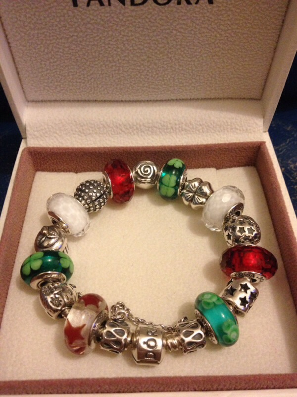 For jewelry Id go with something cute casual and in the holiday spirit like!!