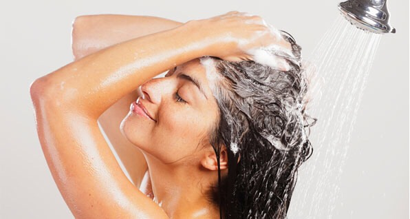 Shampoo your hair one more time to get the oil out. Do this once a week for 3⃣ weeks and the dandruff will be gone for good.