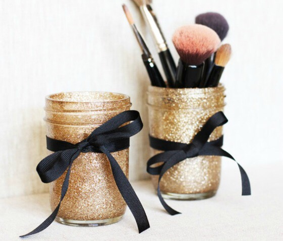 Makeup brushes need places to be stored and these are perfect