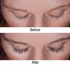 Then apply to lashes.