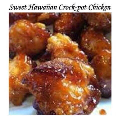Ingredients: 2 lbs chicken tenderloin chunks  1 cup pineapple juice 1/2 cup brown sugar  1/3 cup soy sauce