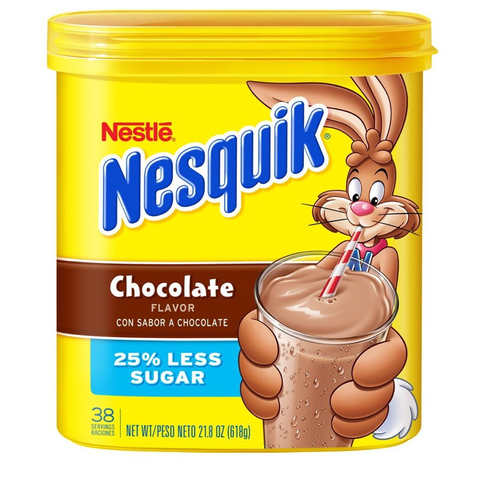 Add the choclate mix