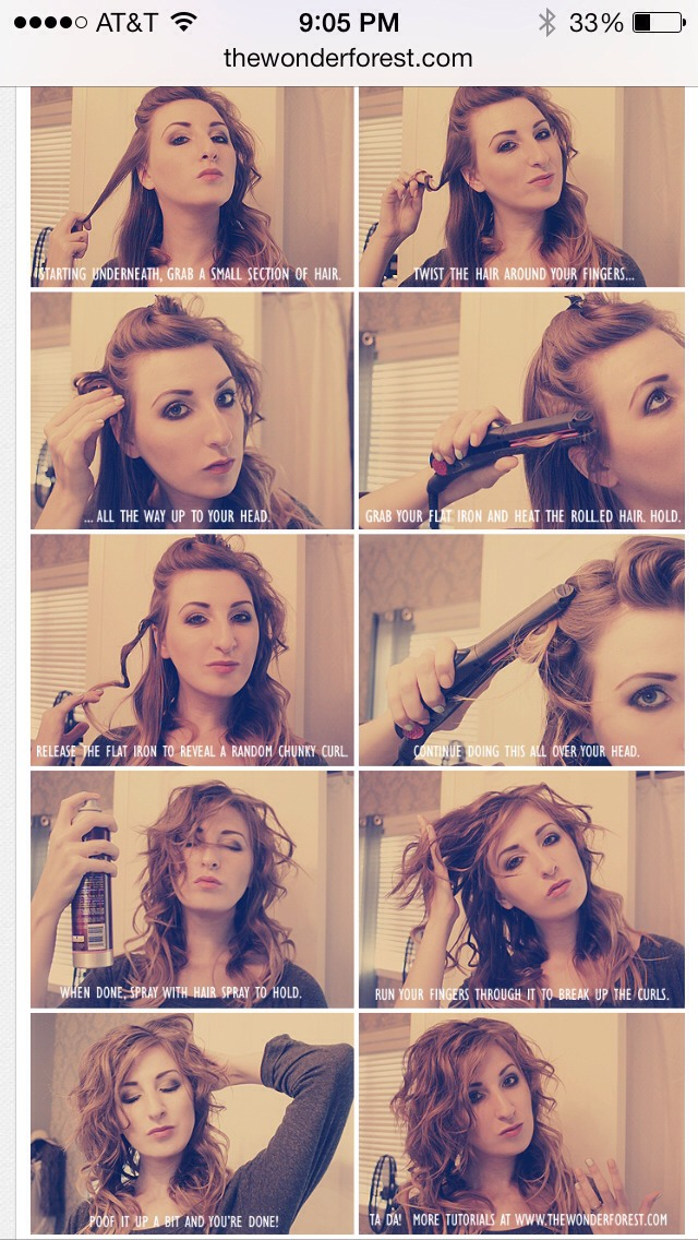 So easy and quick. Leaves you with gorgeous curls!