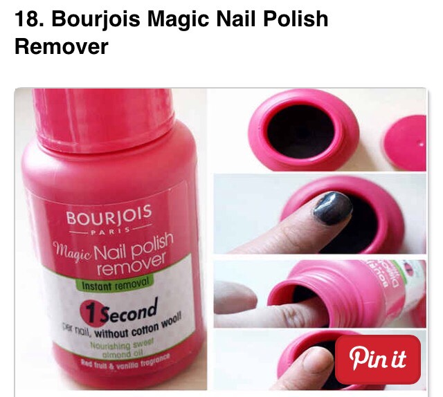Stick your finger in for 1 second and it will completely remove every last trace of polish. - $8.88
