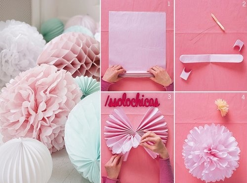 How To Make Crepe Paper Decorations Decoration For Home