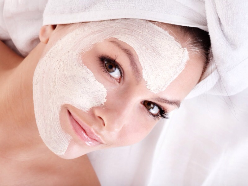 Try to use a face mask that doesn't dry. It will make your skin dry