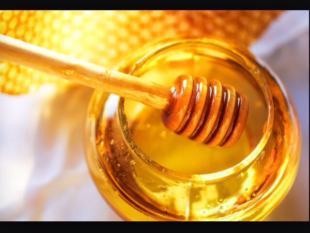 A tablespoon of honey