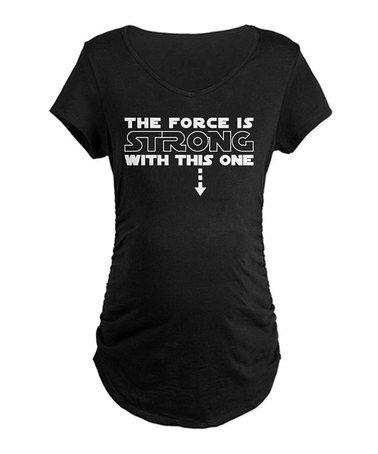cute star wars maternity shirt. Also comes in white on Zulily.com