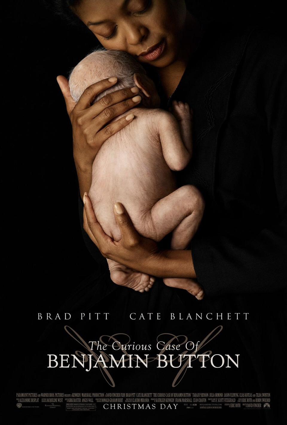 CURIOUS CASE OF BENJAMIN BUTTON - drama/romance