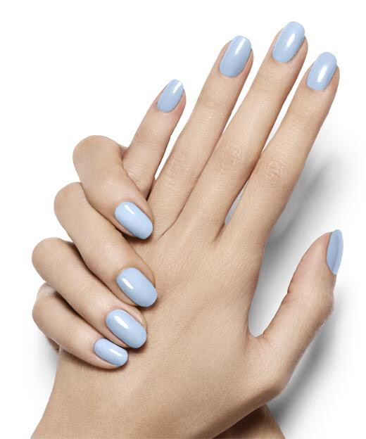 I can vouch for Essie's pastel blue in the shade Bikini So Teeny. One of my favorites!