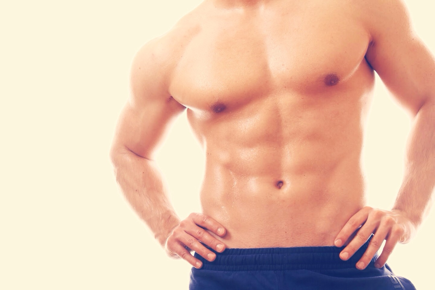 Flexing your abs not only makes your stomach look flat but it actually strengthens your abs! So when you go out, flex your abs and look great and help your stomach!