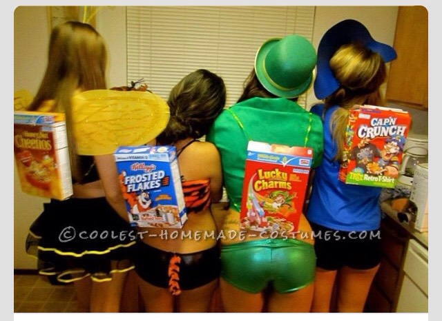 Cereal box characters!