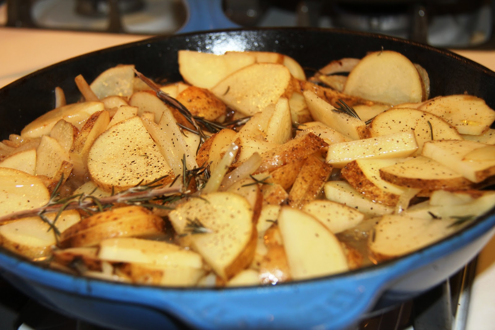 This is a pretty fast way to make fried taters that still has that wonderful flavor.