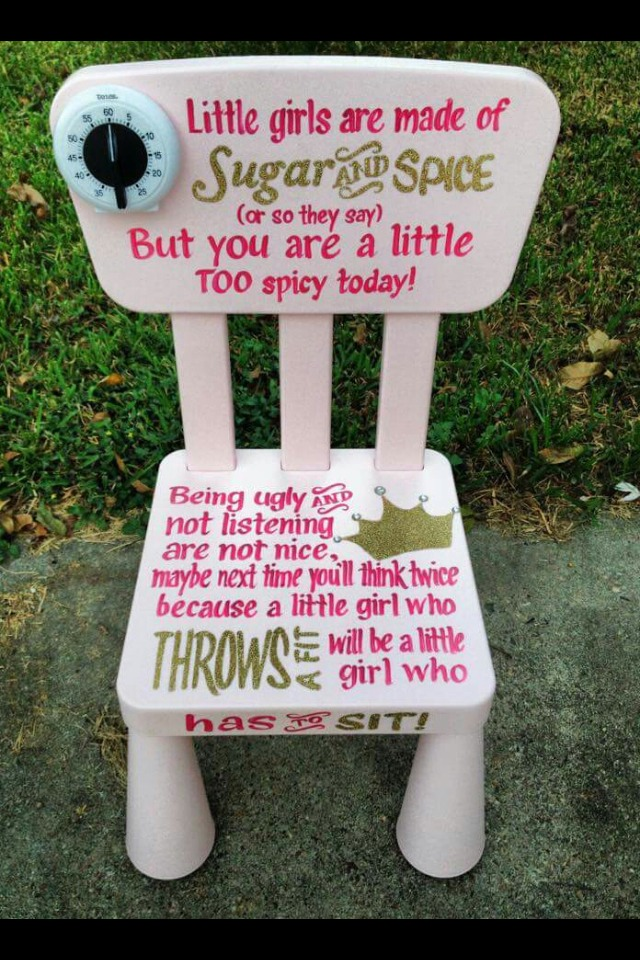Diy Kids Timeout Chairs & Diy Kids Timeout Chairs by Dakota Millikin - Musely
