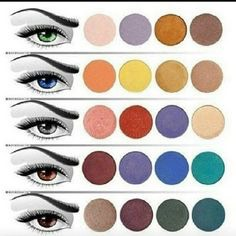 Best Colors To Compliment Eye Color
