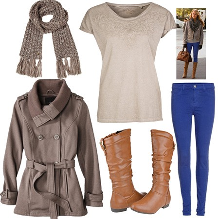 It's still really cold in spring so knee high boots and a coat are must haves for this season 💖