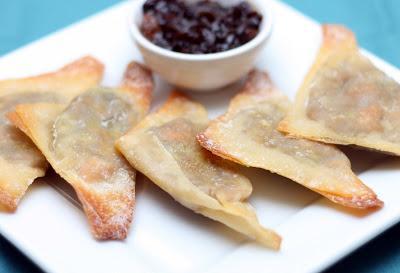 http://chezcayenne.com/2010/04/sweet-potato-edamame-mini-samosas/