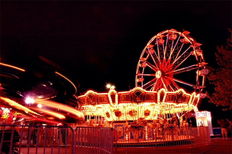 Find a carnival near you! During the summer most cities have a carnival. It's great to go to with your friends and is something to do.