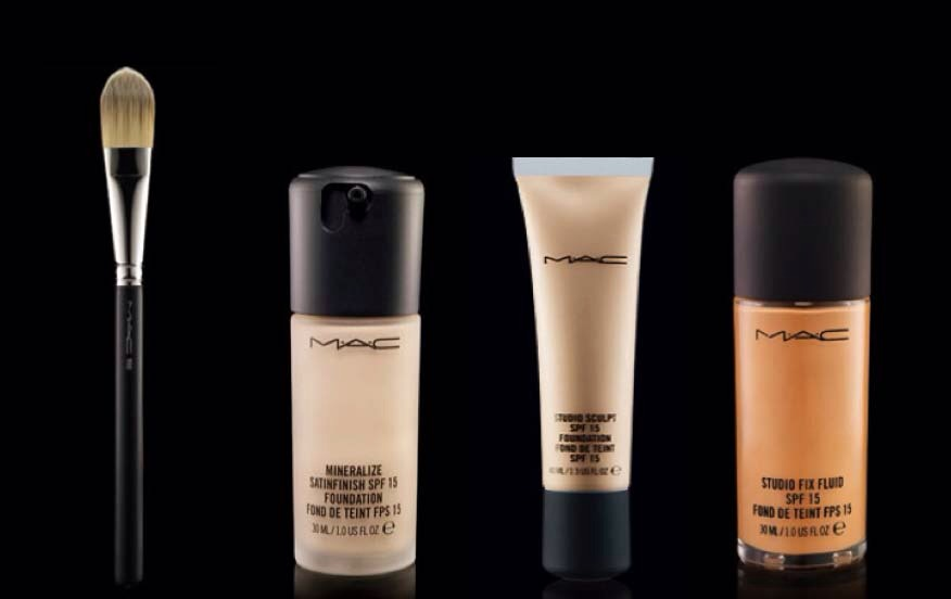 first add your everyday foundation lightly on your face, making sure its spread evenly to avoid patchiness