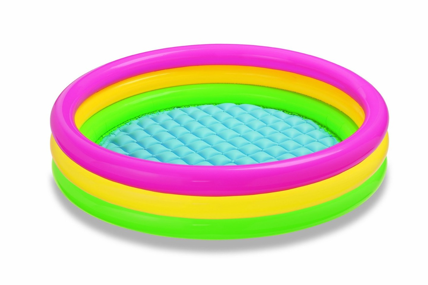 Use dawn to wash out the the dirt and muck from your kiddie pool. Also squirt dawn in your regular pool it will bring everything to the edge making it easier to scoop everything up.