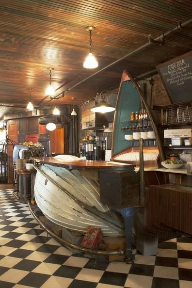 Oyster Fishing Boat Bar