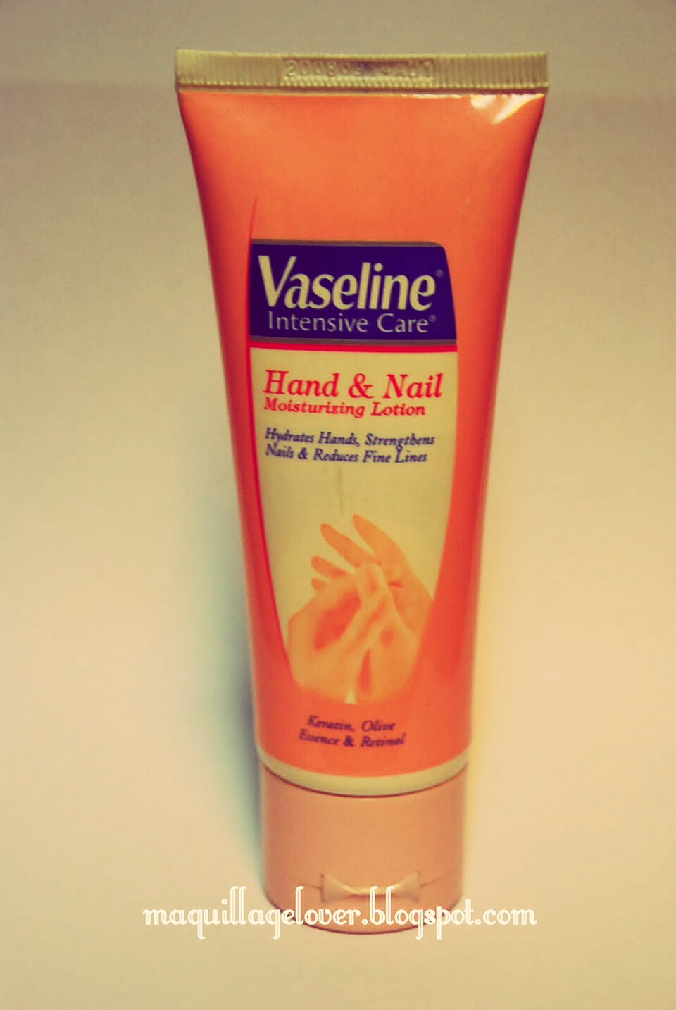 Massage your nails an cuticles with hand cream.. It really helps make your nails grow quicker and stronger!