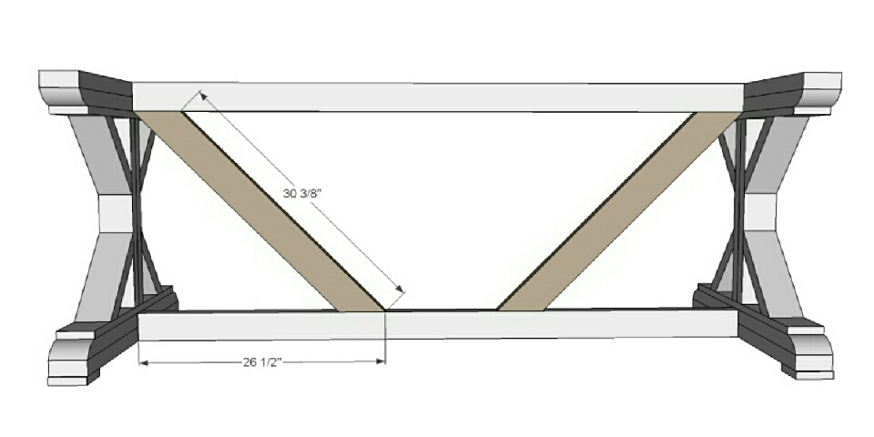 Step 8 Instructions:  Then the cross braces