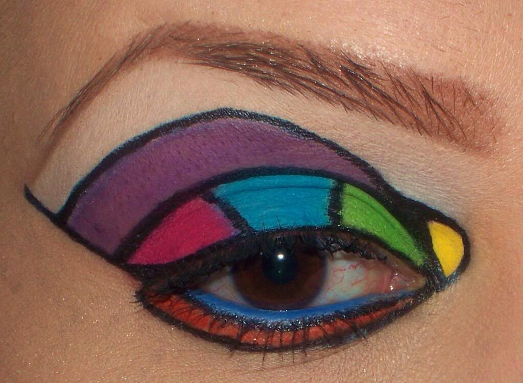 how to use 4 color eyeshadow