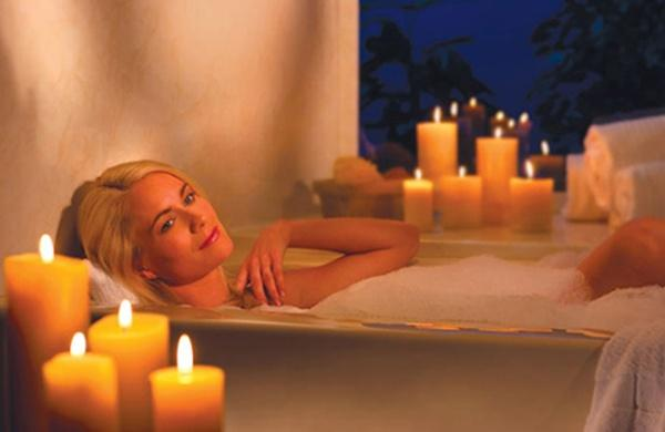 Have a nice warm bath (not hot).This will help your body reach a temperature that's ideal for rest.