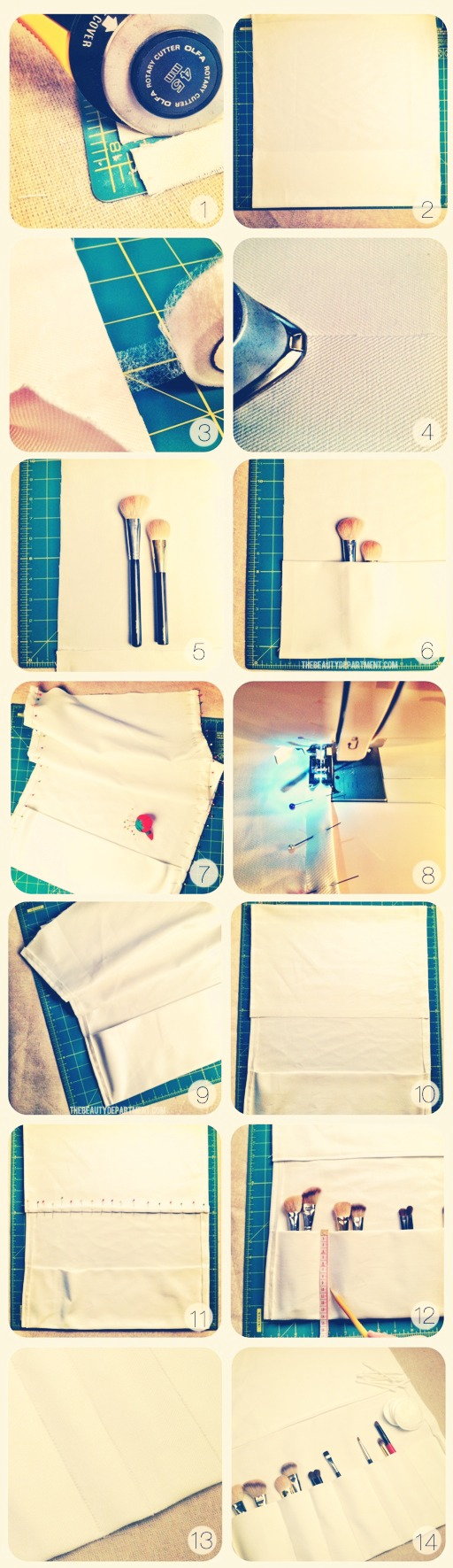 You will need to know how to sew or have a sewing machine .