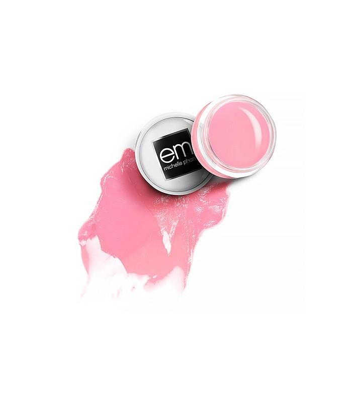 The Pillow-Soft Lip Balm  Em Cosmetics Cushiony Lip Balm in Pillow Plush ($14) Because who doesn't feel pretty with soft, bright pink lips? This vanilla-scented balm adds a sheer dose of color but can also be worn over your lip color for extra drama.