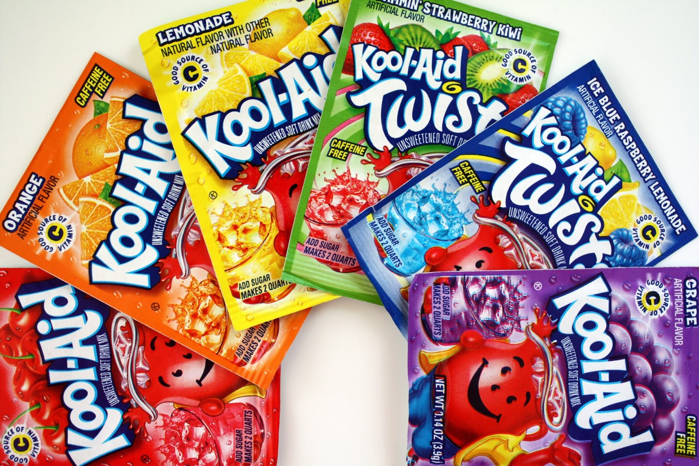First pick your koolaid color red works best