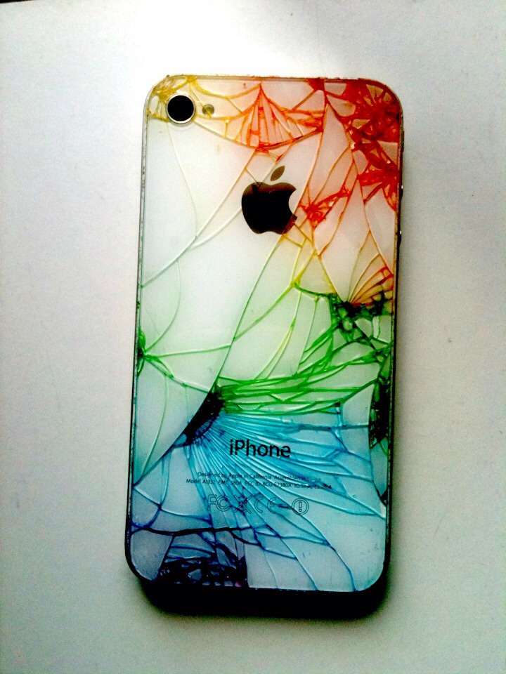 How To Decorate Your Cracked Iphone By Christen Avent Musely