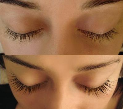 Get long full lashes or brows with these simple ingredients. I love the way my lashes look now.