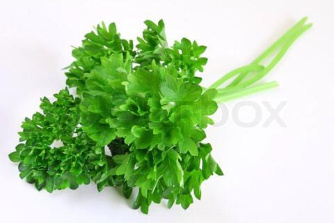 One handful of parsley
