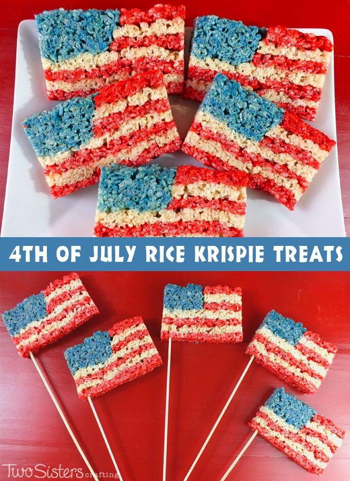 Fun rice crispy treats