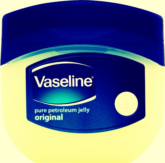 Apply a small amount of Vaseline to wherever you want to the perfume to be