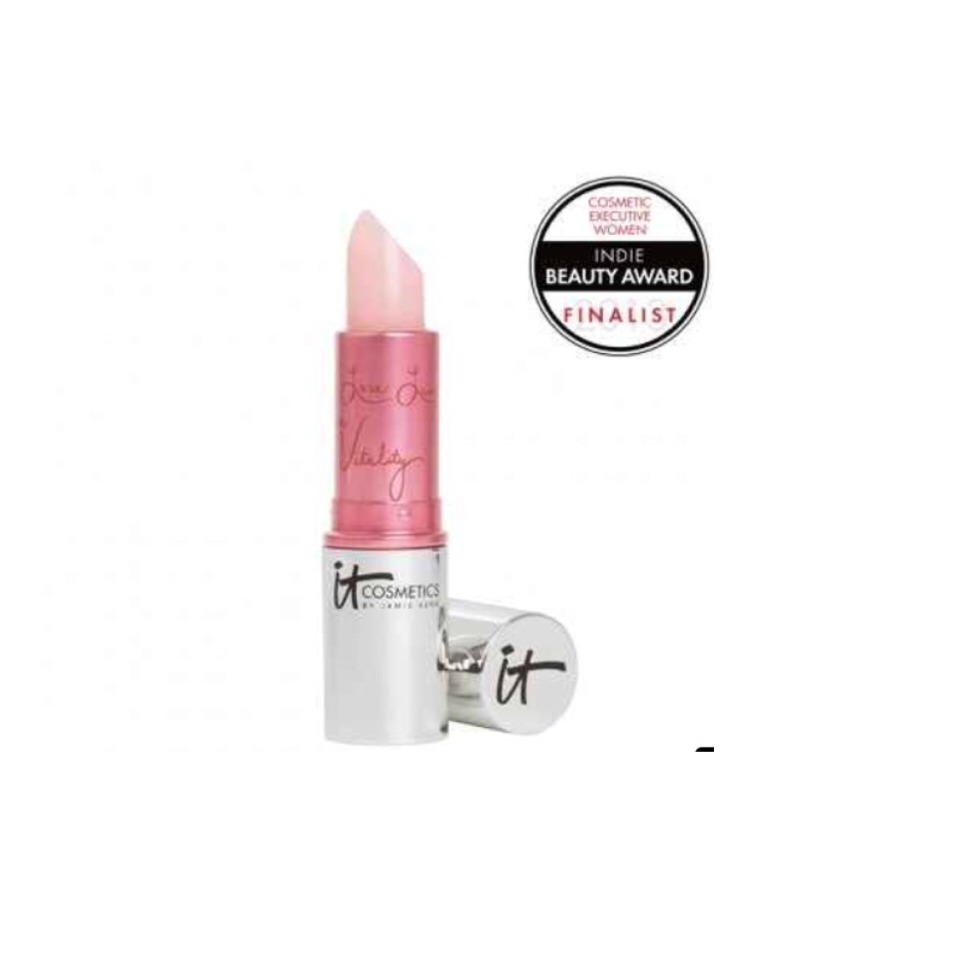 IT Cosmetics Vitality Lip Flush Stain in Je Ne Sais Quoi A creamy, natural-looking balm with a subtle pigment. $20 at Birchbox.