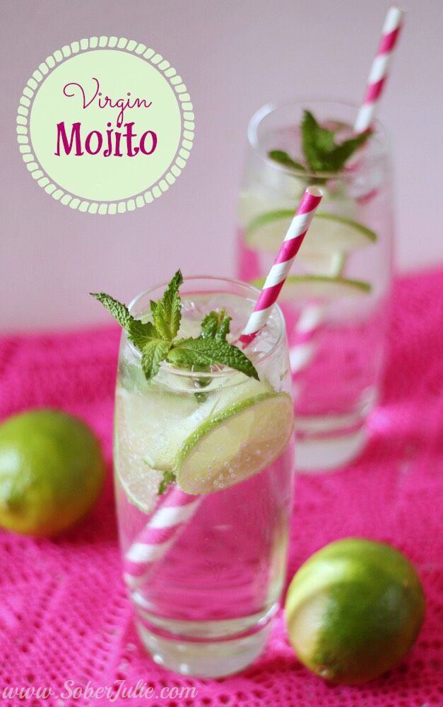 Virgin Mojito Recipe #summervibes