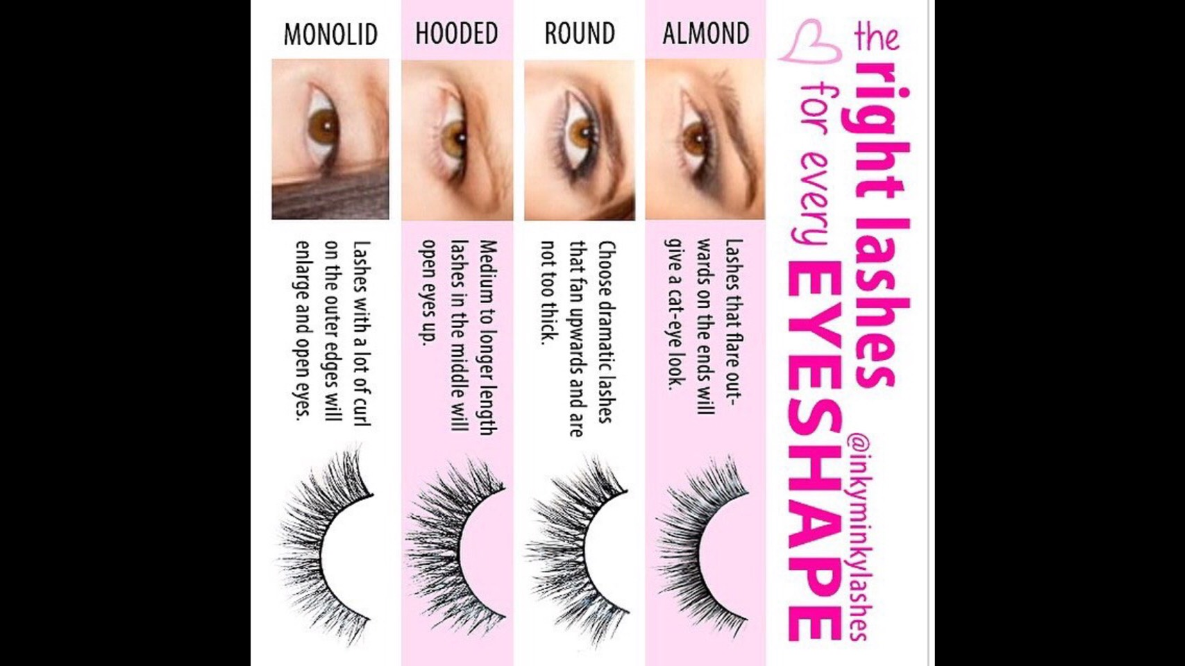 ec5153880e7 The Right Lashes For Every Eye Shape by Thalia 🎀 - Musely