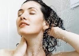 """🚿Saturate Before You Swim """"Dry hair is like a sponge,"""" explains Toni&Guy US celebrity stylist, Christian Wood. """"But when hair is wet, further absorption of chlorine or salt water is interrupted."""""""
