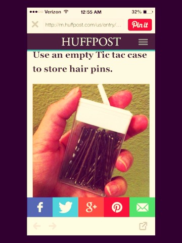 Always leaving bobby pins around and never knowing where they are? Sick and tired of wasting money on them? Use this tip!